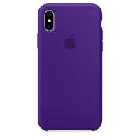 Чехол для iPhone Apple iPhone X Silicone Case Ultra Violet